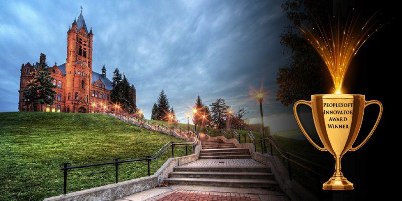 Syracuse University – PeopleSoft Innovator Award Winner