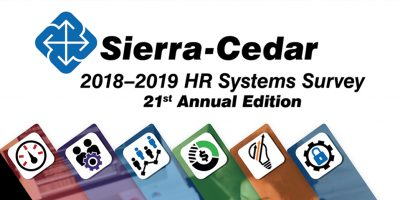 Key Findings from the Sierra-Cedar 2018–2019 HR Systems Survey, 21st Annual Edition