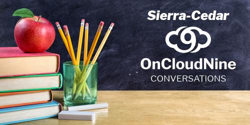 Sierra-Cedar Debut of On Cloud 9 Conversations Featuring CFO of Wichita Public Schools