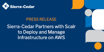 Sierra-Cedar Partners with Scalr to Deploy and Manage Infrastructure on AWS